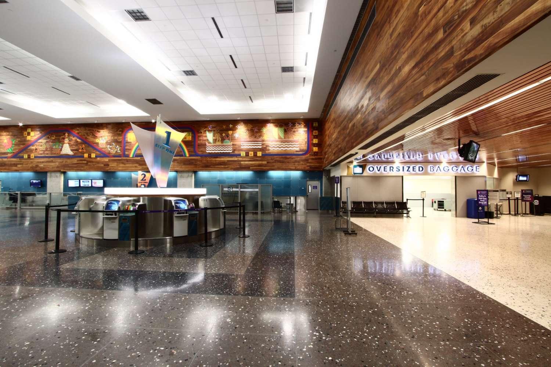 Hawaiian Airlines Lobby at Honolulu International Airport